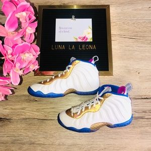 NWT 🔥 Nike Air Little Posite One (GS) Sneakers
